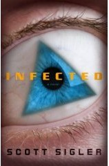 Infected book cover