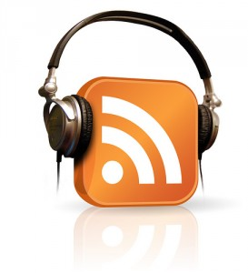 Podcast RSS With Headphones