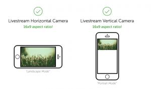 Livestream producer app