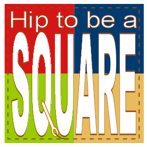 Hip to be a square logo
