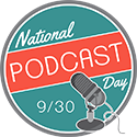 National Podcast Day badge