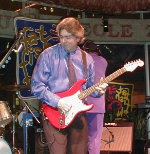 Dave Jackson Playing Fat Fish Blue