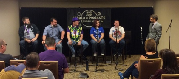 World of Podcasts panel