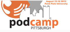 Podcamp Pittsburg logo