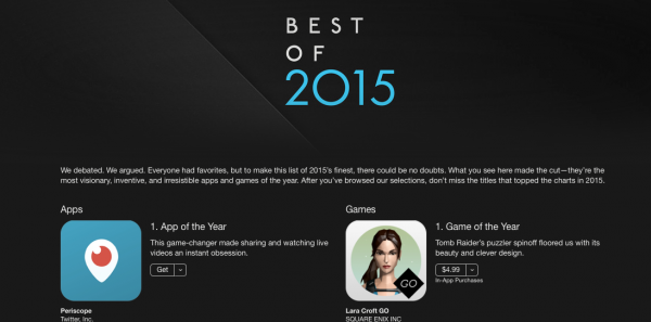 iTunes best of 2015
