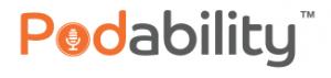 Podability logo
