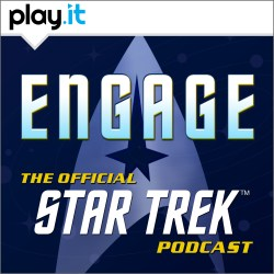 Engage The Official Star Trek Podcast Logo