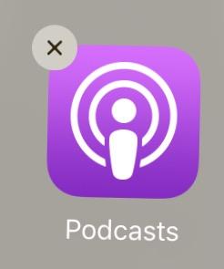 Podcasts Delete