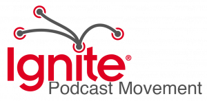 Ignite Podcast Movement logo