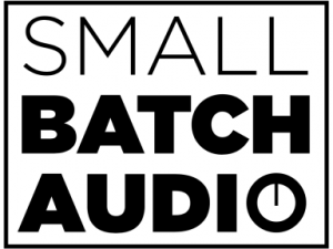 Small Batch Audio Logo