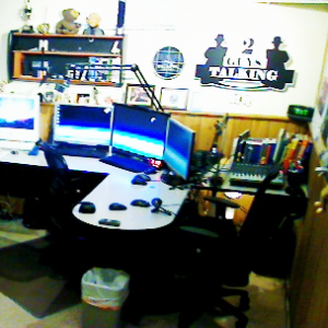 The Original 2GuysTalking Podcast Network Studio - St. Louis, MO USA Circa 2005
